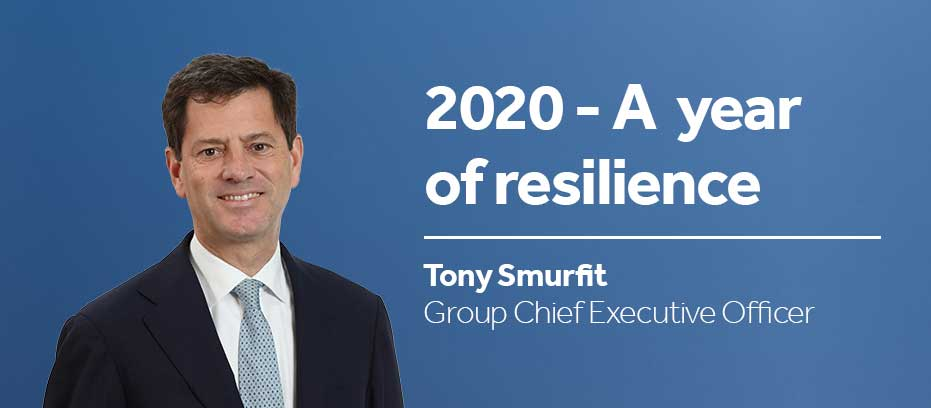 Leadership CEO Tony Smurfit
