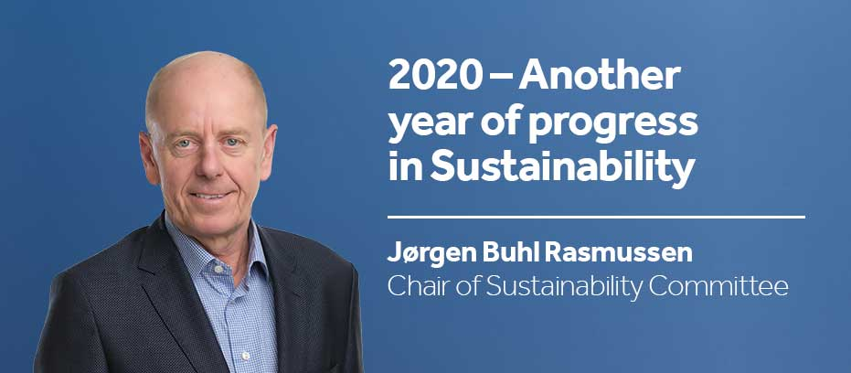 Chair of sustainability committee