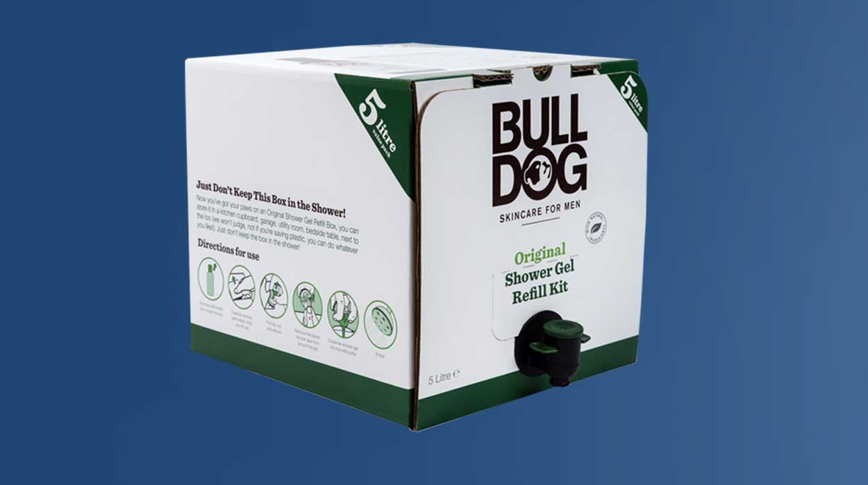 Bulldog sustainable packaging