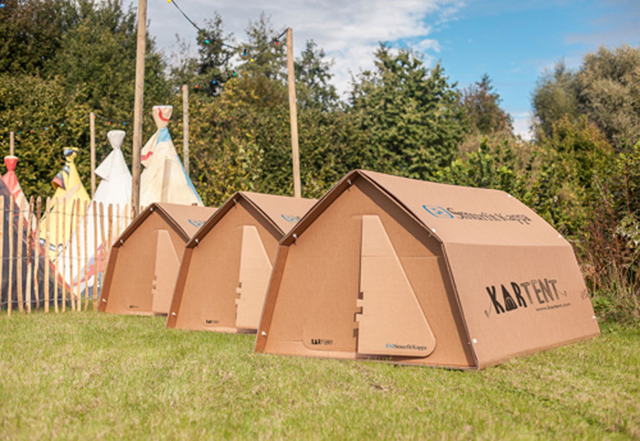 KarTent and Smurfit Kappa win prestigious global product design award for ground-breaking eco-friendly tent