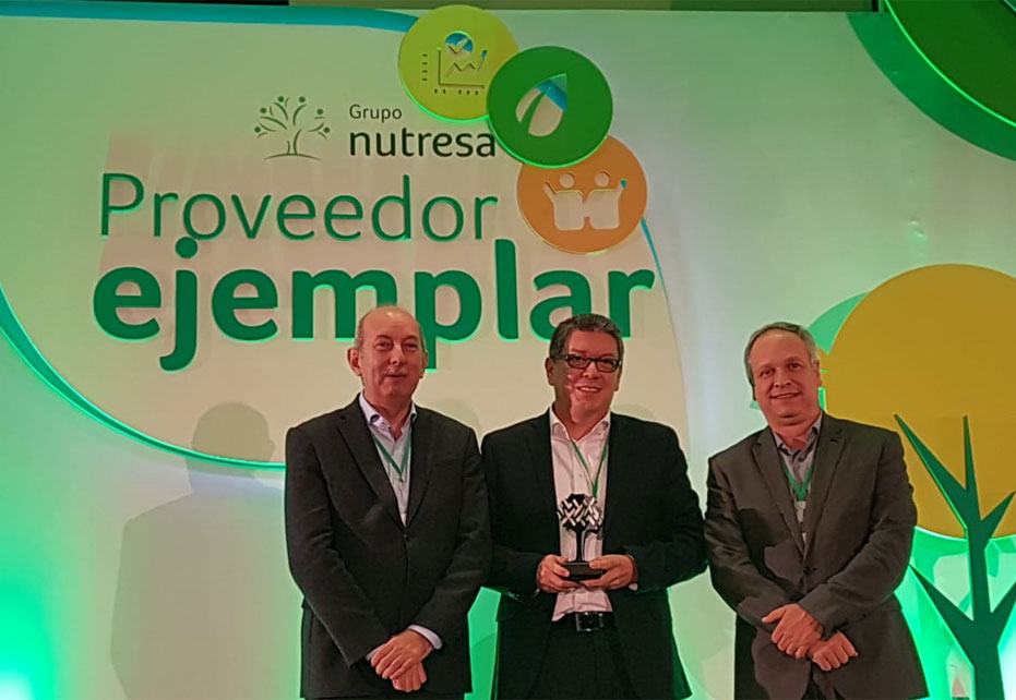 Smurfit Kappa's innovation rewarded with top supplier awards in Colombia